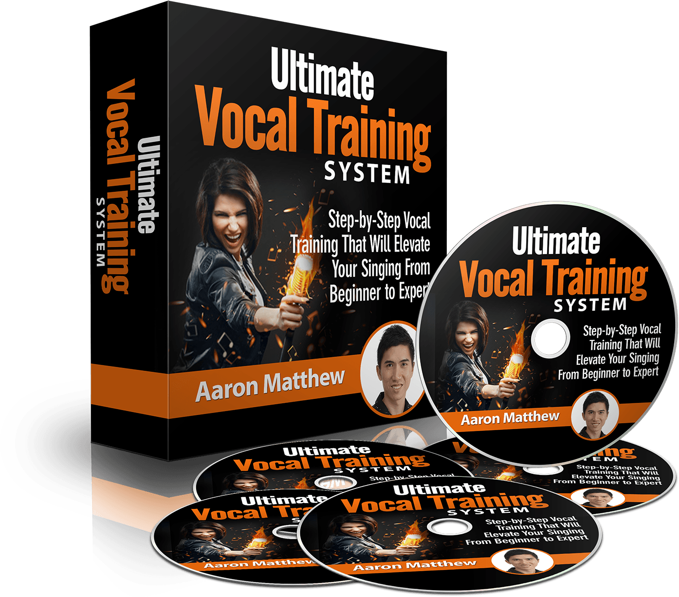 Ultimate Vocal Training System Sales Page
